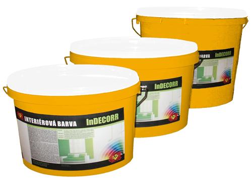 Interiérové barvy, výroba barev, malířské barvy, míchání barev.