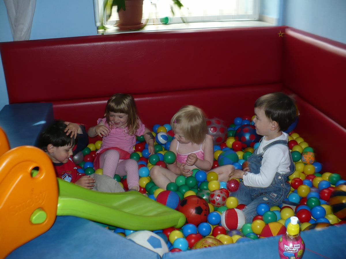 Bohatá nabídka aktivit pro nejmenší a hlídání dětí!