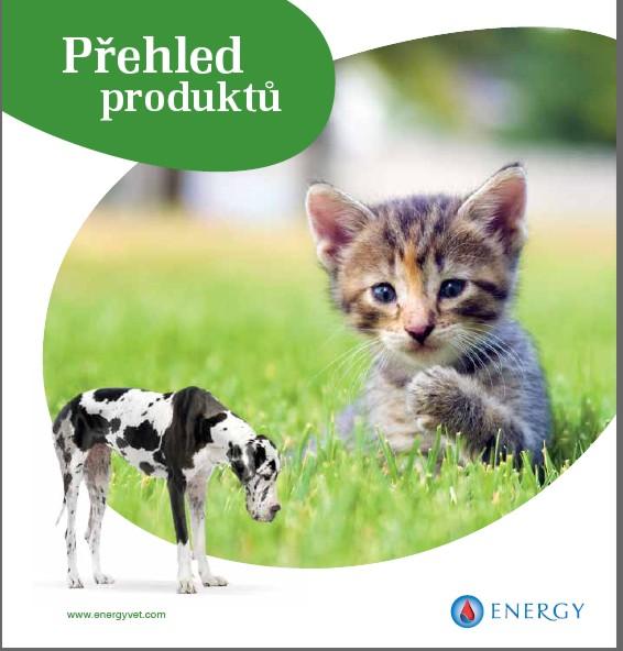 Přírodní veterinární přípravky, preparáty Energy