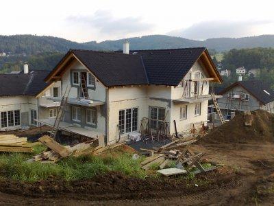 Výstavba rodinných domů bytů rekonstrukce budov objektů Liberec.