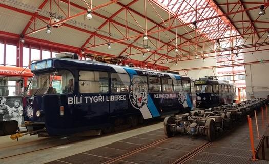 Polepy na tramvaje a autobusy
