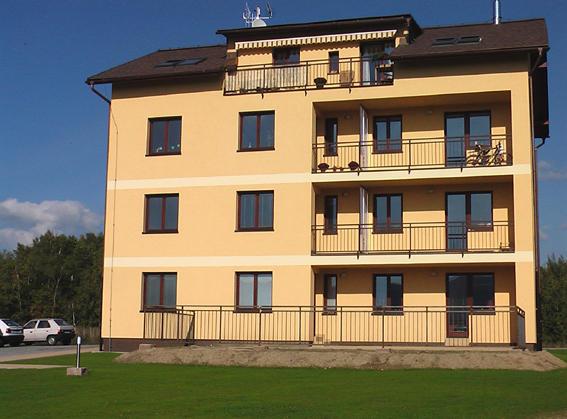 Pasivní domy dřevostavby nízkoenergetické domy bytové domy Libere