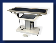Veterinary table with stainless worktop, Czech Republic