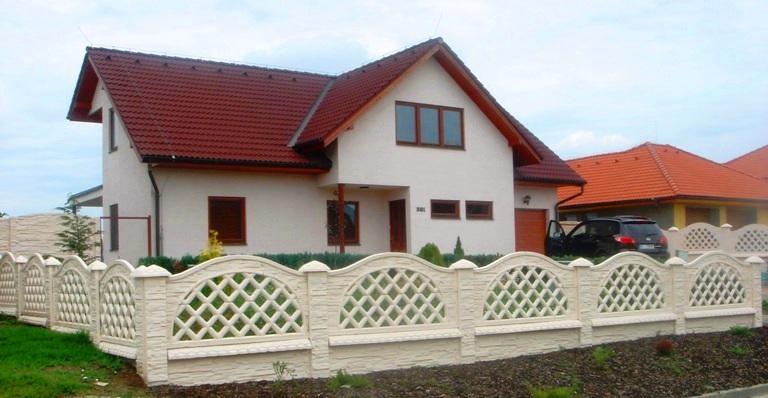 Betonové ploty oplocení na celý život