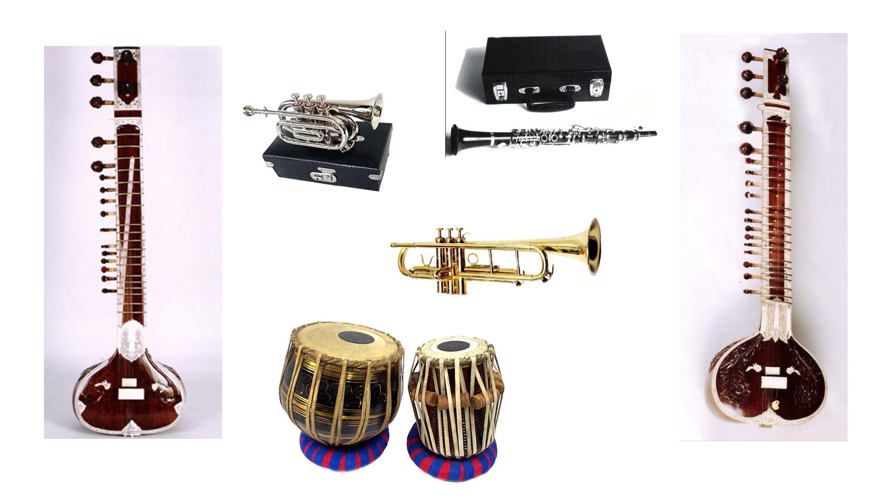 INDIE; Hudební nástroje