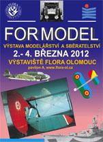 FOR MODEL - výstava modelů a sběratelství Olomouc
