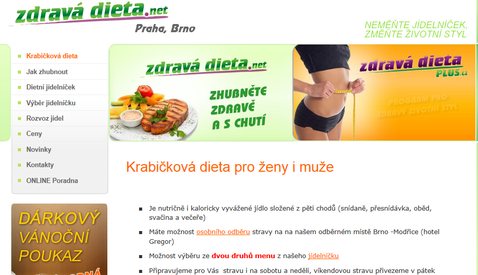 Krabičková dieta , krabičky, www.zdravadieta.net