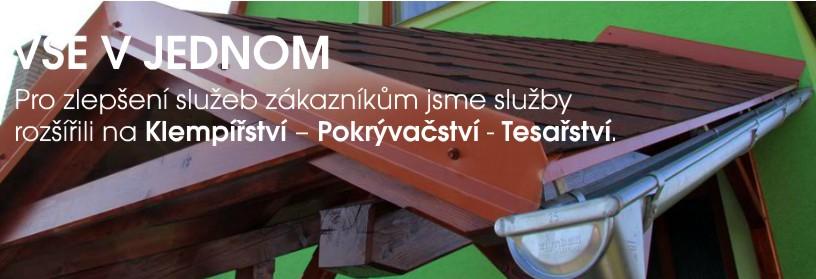 Rekonstrukce střech, zhotovení střech, střechy Šumperk Zábřeh