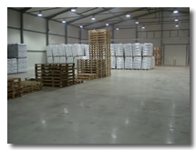 Betonové průmyslové podlahy
