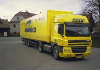 Internationaler LkW-Transport