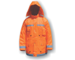 Pracovní bunda s kapucí