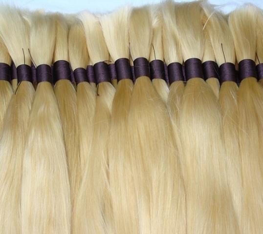 Pravé panenské kavkazské vlasy, východoevropské ruské vlasy