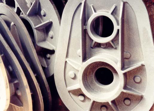 Slévárna šedé litiny výroba odlitků opracování odlitků modelárna