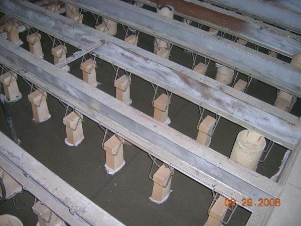 Výroba žárovzdorné tvarovky