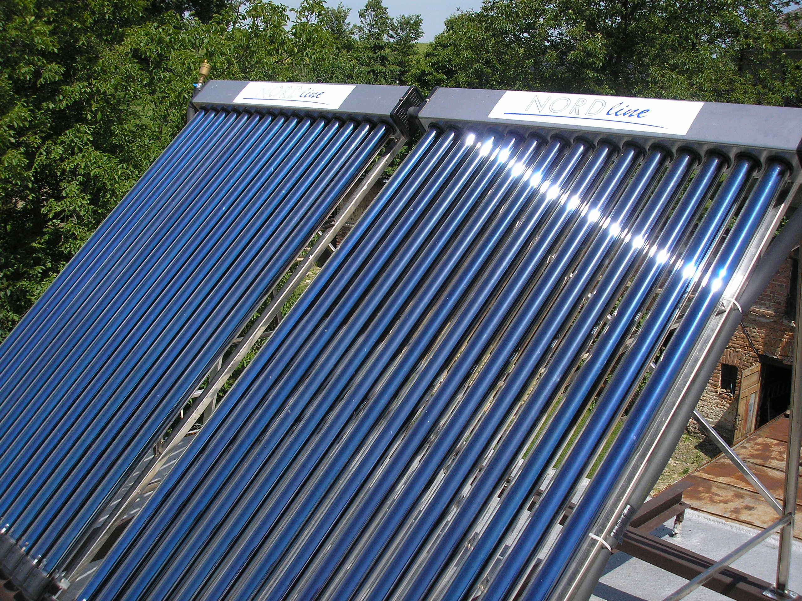 Tepelná čerpadla a solární panely, klimatizace NORDline