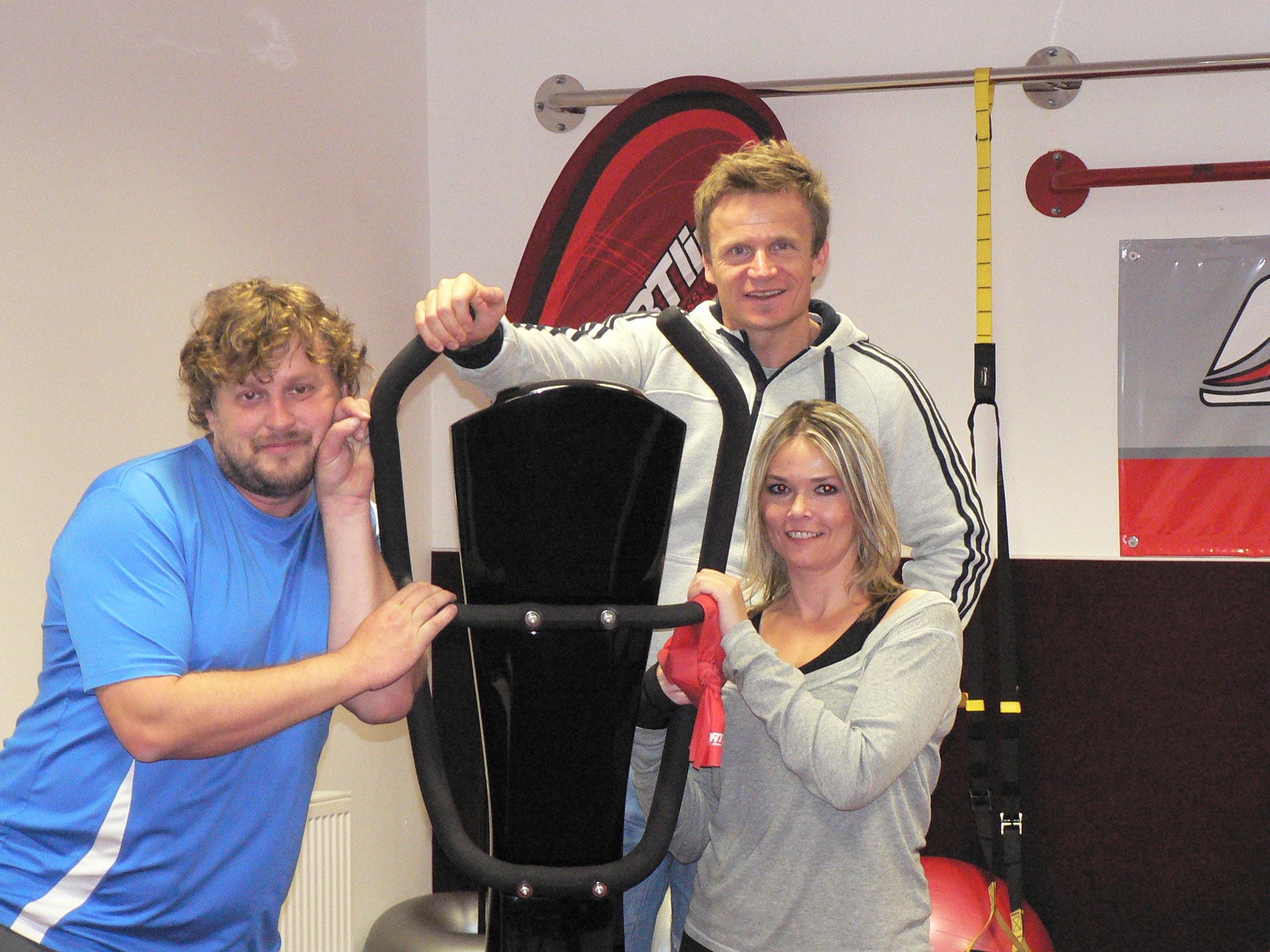 Cvičení na vibračních strojích VibroGym Opava