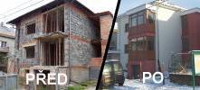 Stavby rodinných domů na klíč Vsetín