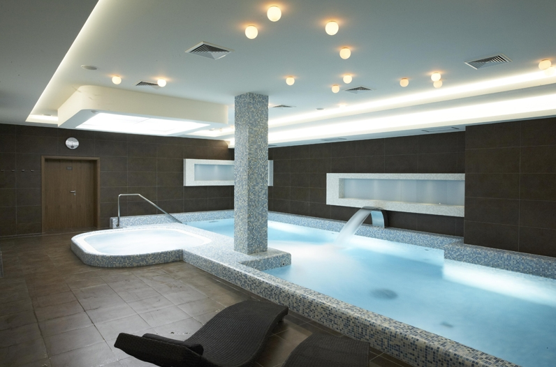 Realizace koupelen pro wellness, hotely, rekreační zařízení Zlín
