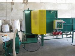 Brikettierung, Pelletierung, Granulierung, Produktionslinie für Pellets, CZ, die Tschechische Republik