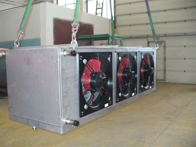 Production of lamellar heat exchangers, the Czech Republic