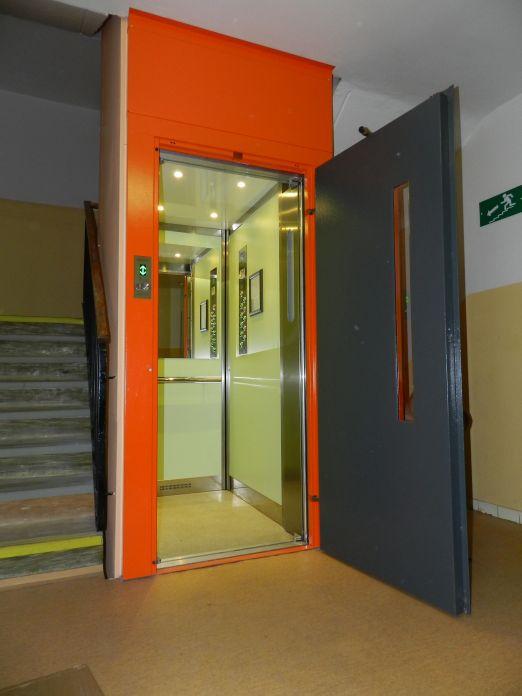 Rekonstrukce výtahů na klíč
