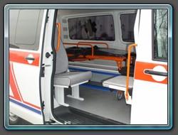 Speciální automobily, sanitky, pohřební vozy