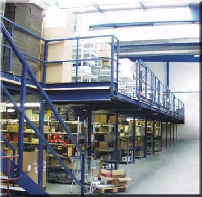 Production of storage systems, platforms, racking equipment Uh. Brod, the Czech Republic