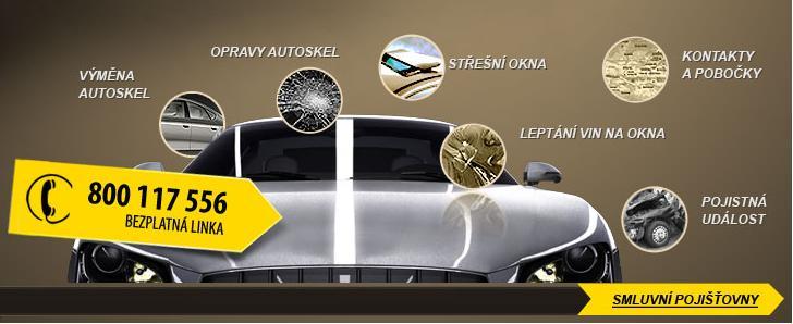 Jarní akce - výměna autoskla + kontrola kapalin a pneu, Praha 10