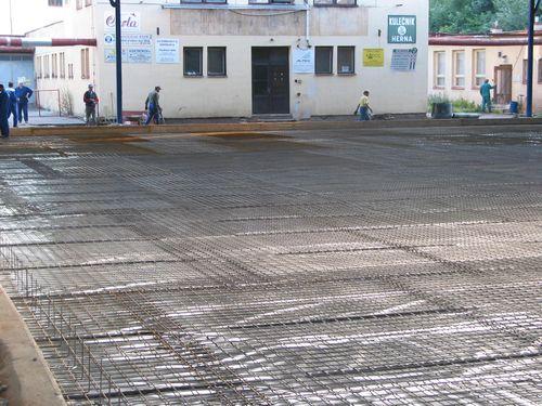 Průmyslové betonové podlahy Hradec Pardubice Náchod Trutnov