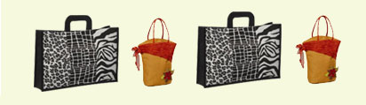 INDIA, Jute, cotton and canvas bags