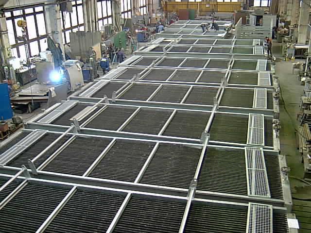 Výroba vzduchové chladiče