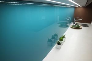 Barevné obkladové sklo Liberec