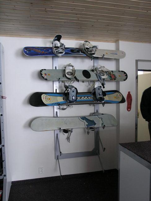 Hliníkové držáky na lyže hliníková stojany na kola