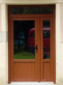 Dřevěná okna a dveře Brno