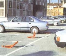 Praha výroba montáž parkovací zábrany