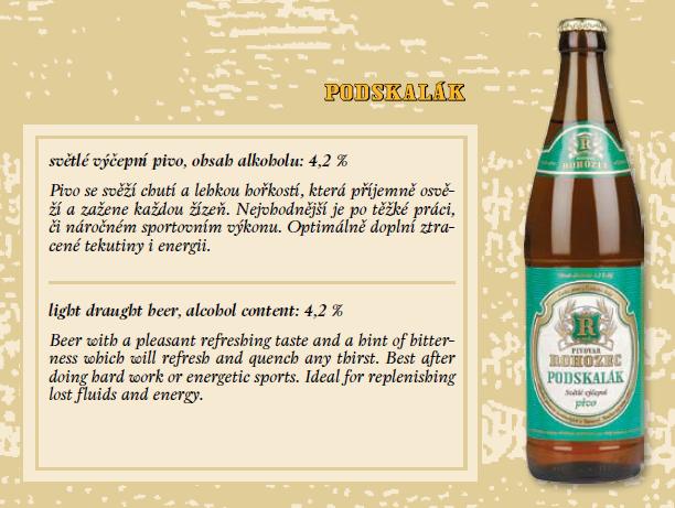 Výroba piva pivovar Rohozec pivo Skalák malina pivo Podskalák  výroba limonády Rohozec pivovar Liberecko Český ráj Turnovsko pivo.