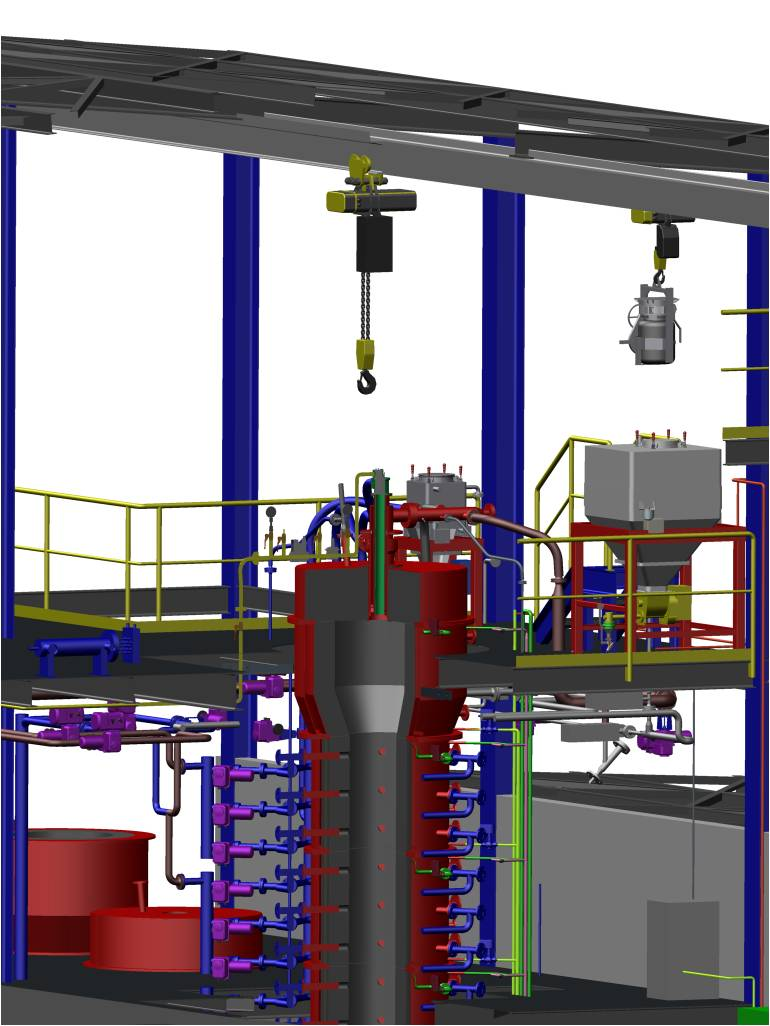 Combustion Facility for Pulverized Coal Testing