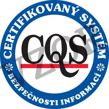 Certifikace ISO 27001 - systémy managementu bezpečnosti informací.