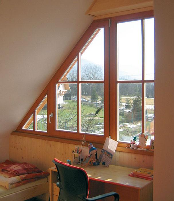 Dřevěná euro okna solární okna posuvná skládací okna bezrámové zasklení vchodové dveře Liberec Jablonec.