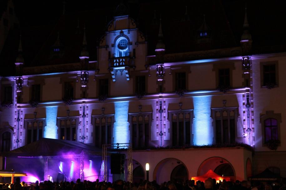 Festival světla Olomouc, Světelná noc, videomapping VZÁŘÍ
