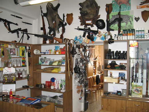 Náboje, zbraně, střelivo Zábřeh, Šumperk