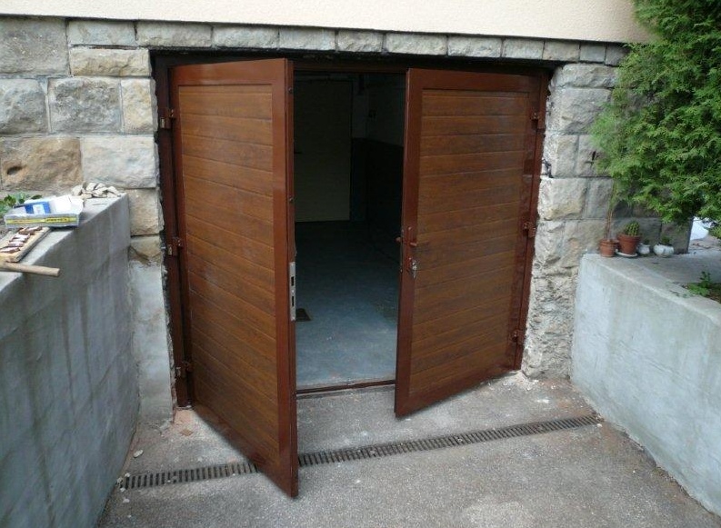 Garážová vrata rolovací, posuvná, křídlová Vsetín, Nový Jičín, Hranice
