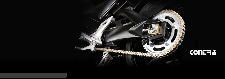 Řetězy pro motocykly a automobily