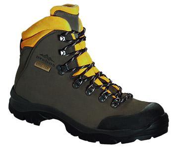 Goretexová trekkingová pracovní obuv.