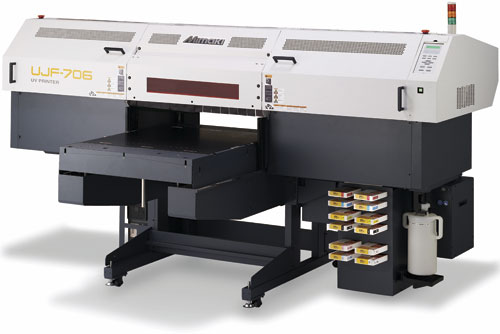 Plošné UV tiskárny Mimaki Brno