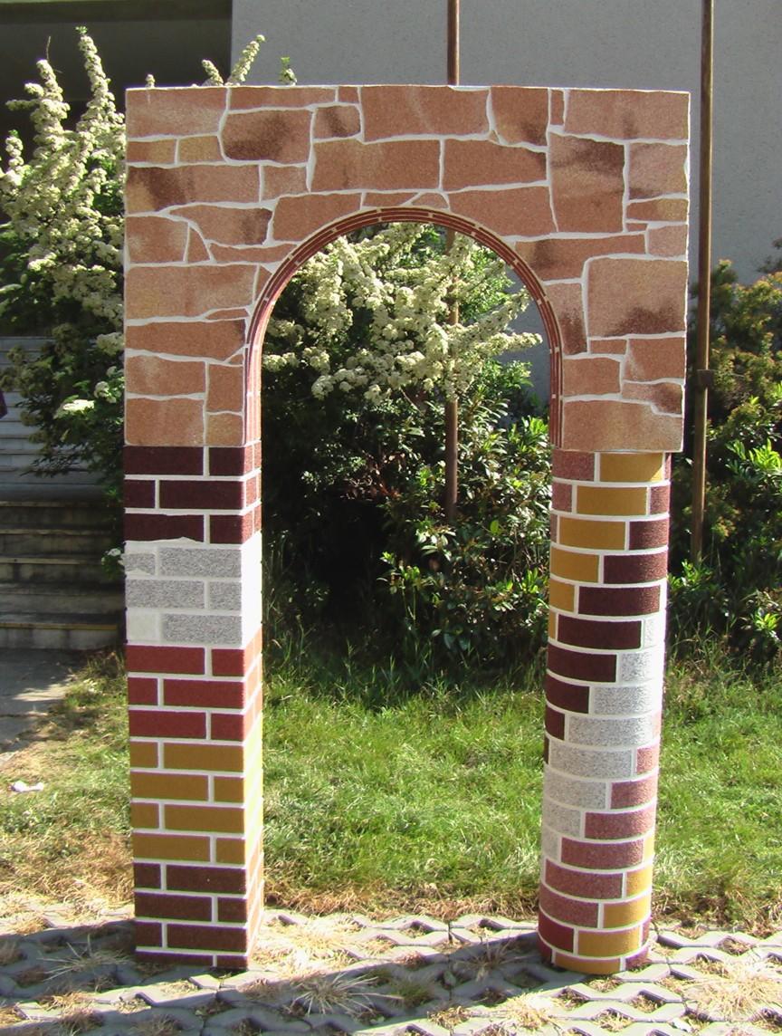 Umělý ohebný obkladový kámen, cihla, venkovní i vnitřní použití