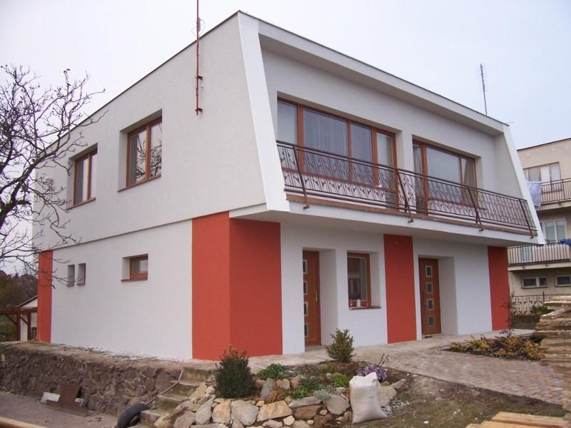 Stavitelství , zateplování budov , fasád Znojmo , Moravský Krumlov , Miroslav