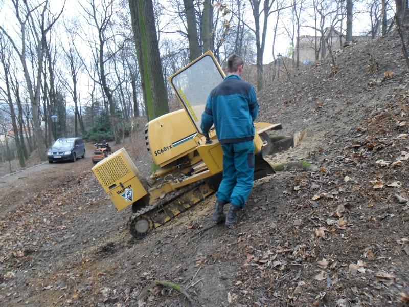 Pronájem zahradní techniky, pronájem a půjčování strojů Bystřice pod Hostýnem, Zlínský kraj