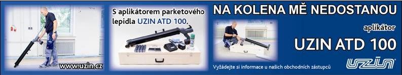 Aplikátor parketové lepidlo Uzin  ATD 100 prodej