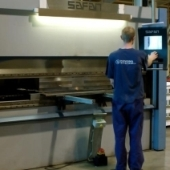 Cutting of tubes, sheet material, profiles, laser cutting, sheet metal forming by pressing, edge bending, the Czech Republic